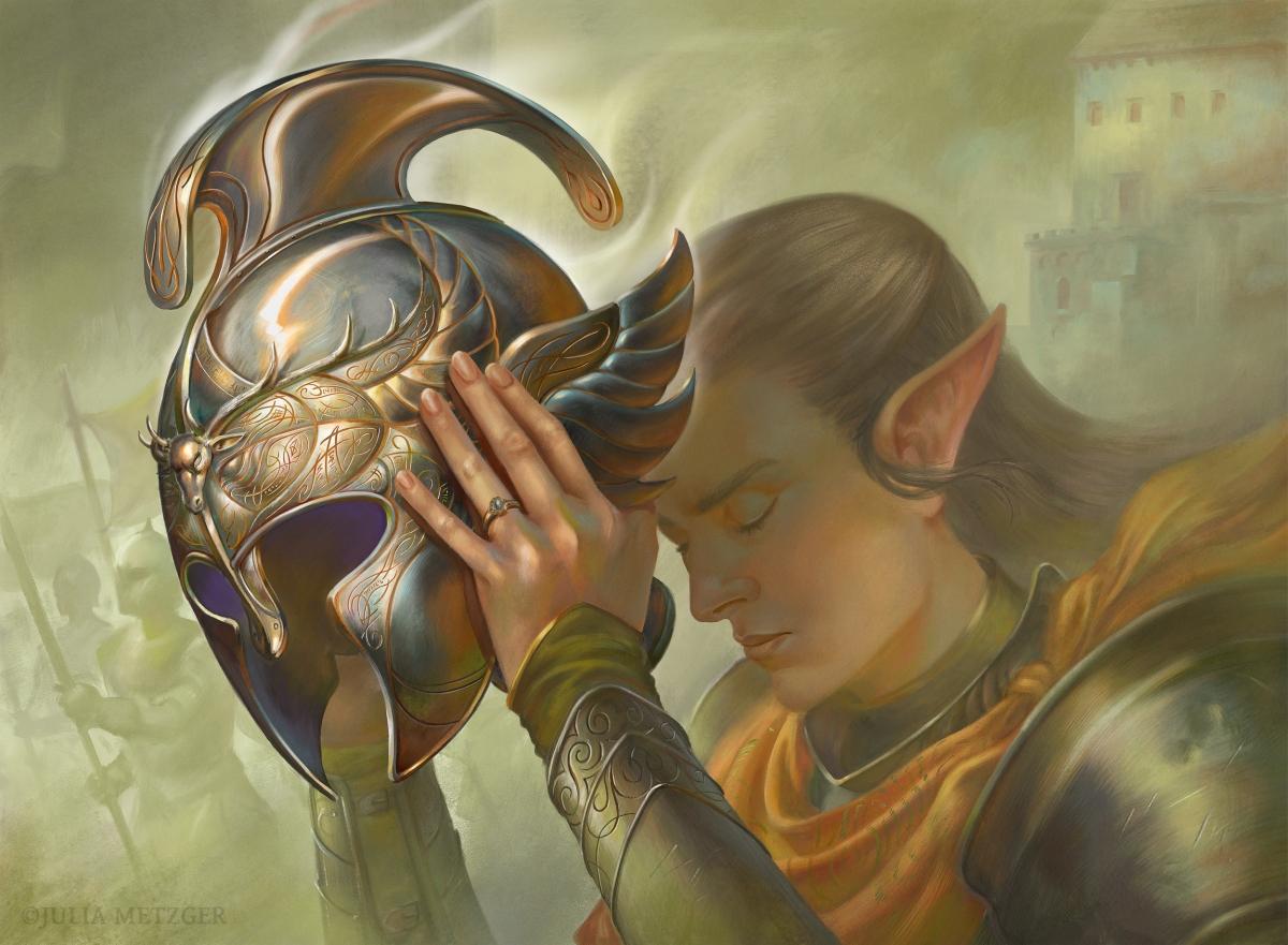 Helmet Of Victory  - Julia Metzger